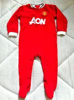 Man Utd baby sleepsuit