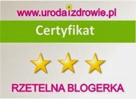 Certyfikat dla blogerek