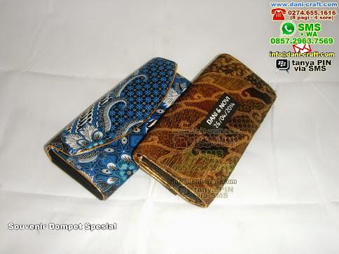 Souvenir Dompet Spesial Batik Jogja