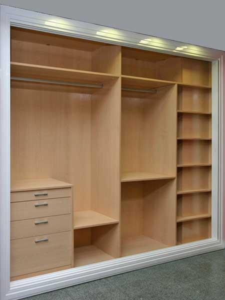 Proyecto uno interiores para vestidores - Interiores armarios empotrados puertas correderas ...