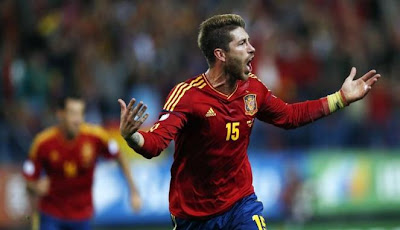 Cuplikan Video Gol Highlights Spanyol vs Prancis 1-1, 17 Okt 2012