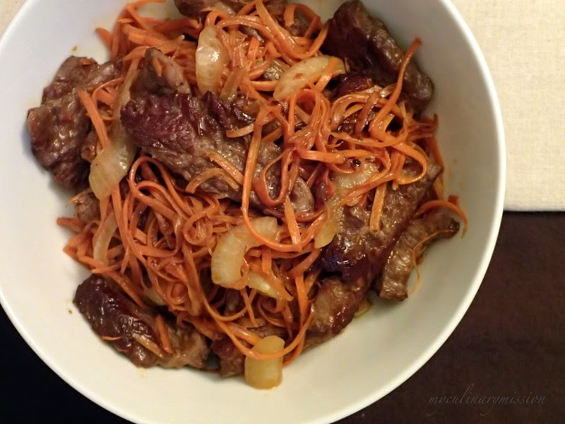 My culinary mission to cook through my 200 books wok wednesdays my culinary mission to cook through my 200 books wok wednesdays chinese jamaican stir fried beef and carrots forumfinder Choice Image