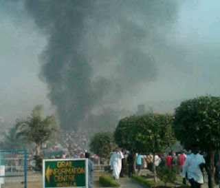 President Jonathan Reacts To Christmas Bombings. 1