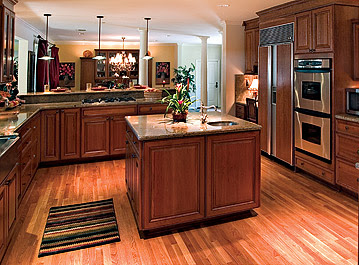 ones above, tend to lend themselves to slightly lighter toned floors ...