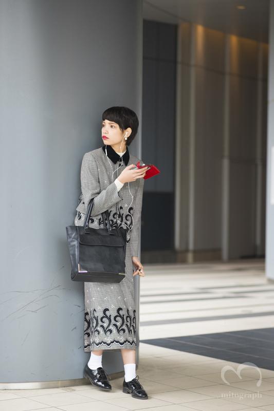 Model Mayu Sasaki at Tokyo Fashion Week 2015-2016 Fall Winter JFW
