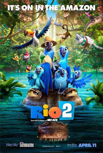 Rio 2 (BRRip FULL HD Inglés Subtitulada) (2014)
