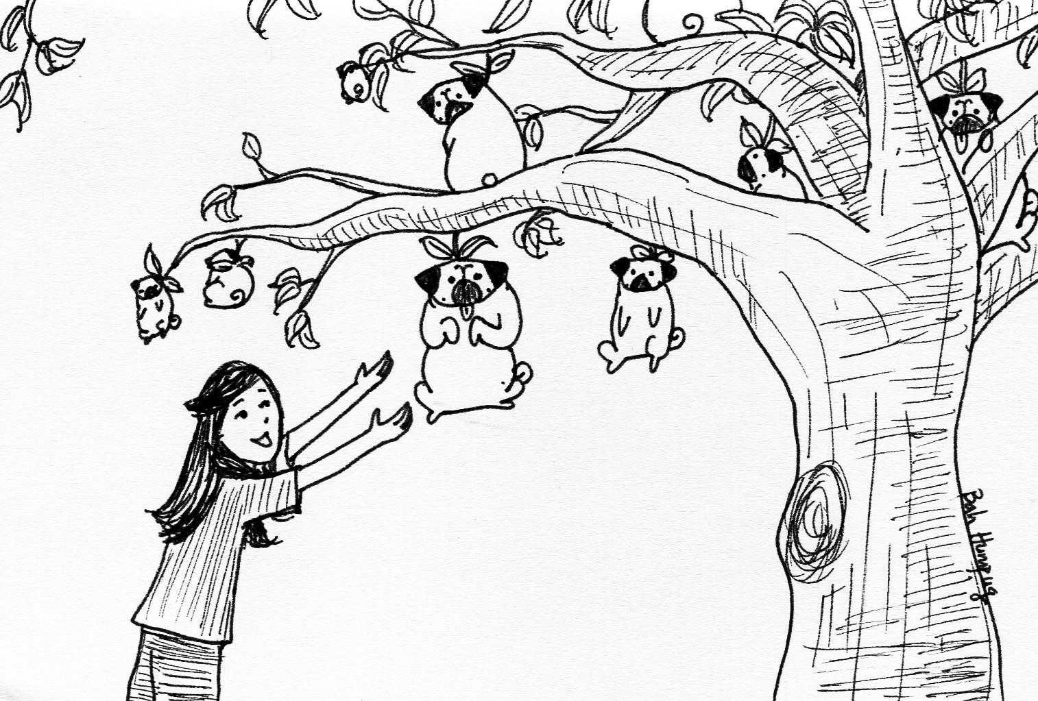 Bah Humpug Pug Trees
