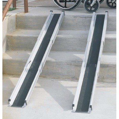Disability Wheelchair: Portable handicap wheelchair ramp