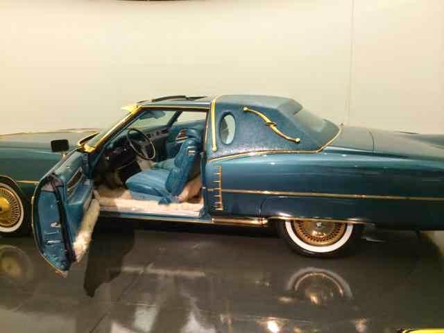 Isaac Hayes gold-plated Cadillac image