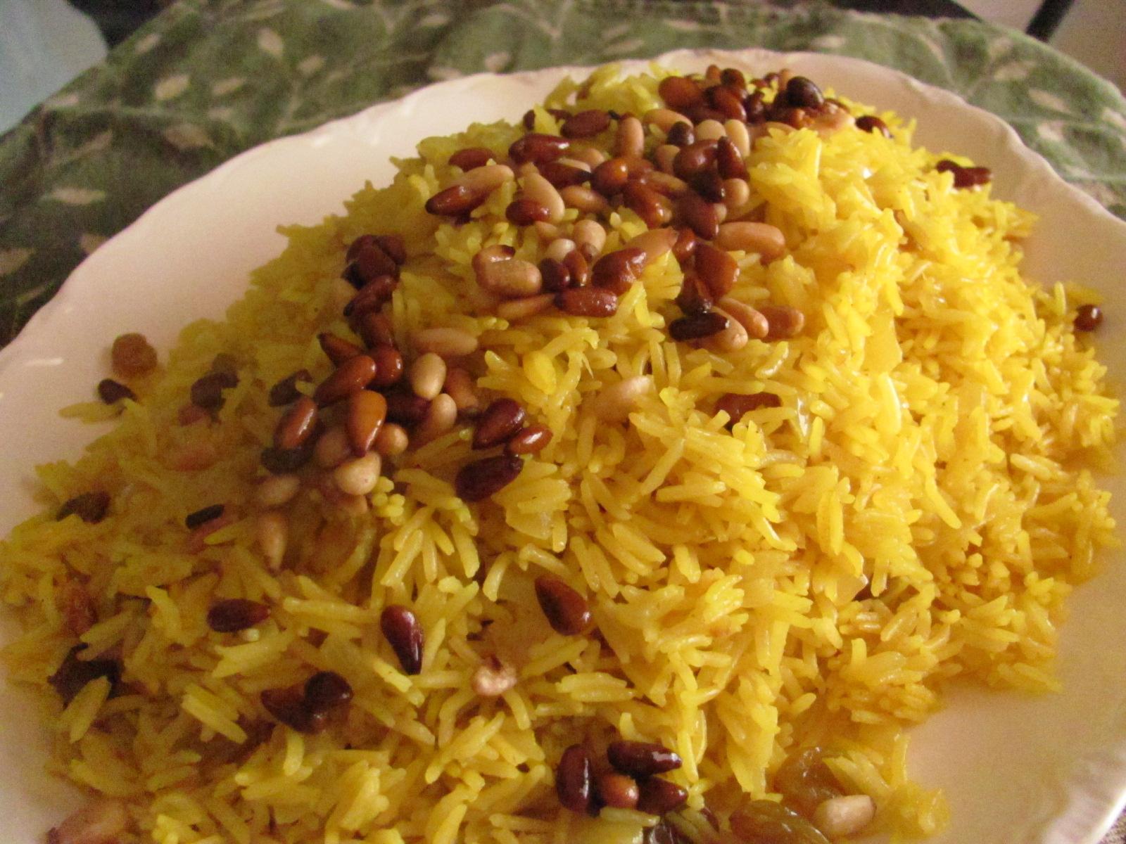 Claudia Roden's Riz Au Saffran - Saffron Rice Recipe ...