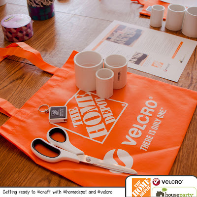 Home Depot and Velcro House Party