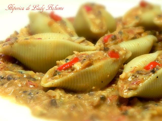 hiperica_lady_boheme_blog_di_cucina_ricette_gustose_facili_veloci_conchiglioni_ripieni_di_pesce_3