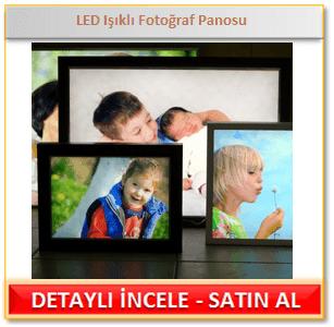 LED Işıklı Fotoğraf Çerçevesi Panosu