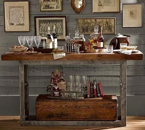 Un Blog De Decoracion A Mi Manera Un Bar En Casa - Bar-en-casa-decoracion