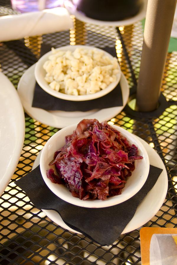 Sides at Viener Fest German restaurant in Nashville Tennessee