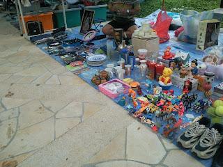 Flea Market selling toys