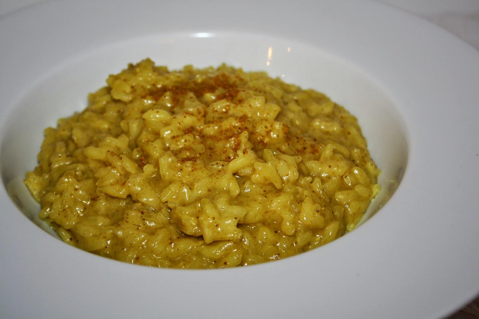 ricotta curry risotto