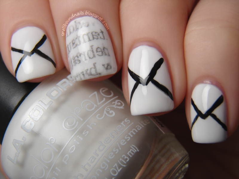 Nail Art Style: Write Me A Love Letter