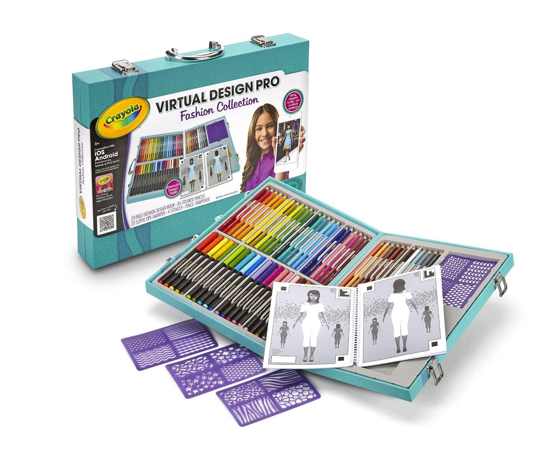 Crayola Virtual Design Pro Fashion Set Reg Heavenly Steals
