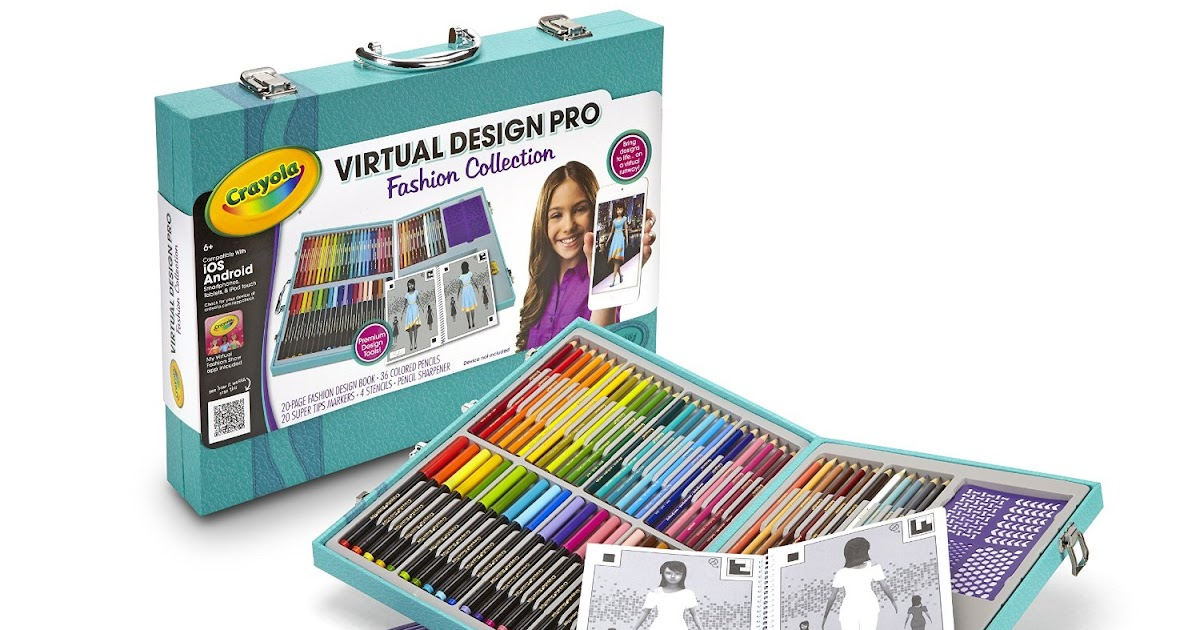 Coupons And Freebies Crayola Virtual Design Pro Fashion Set Reg