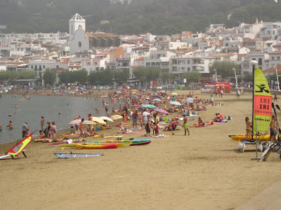 The beach of El Port de la Selva