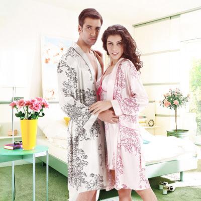 Model Baju Tidur Kimono Couple