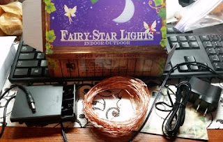 fairy star lights in box items