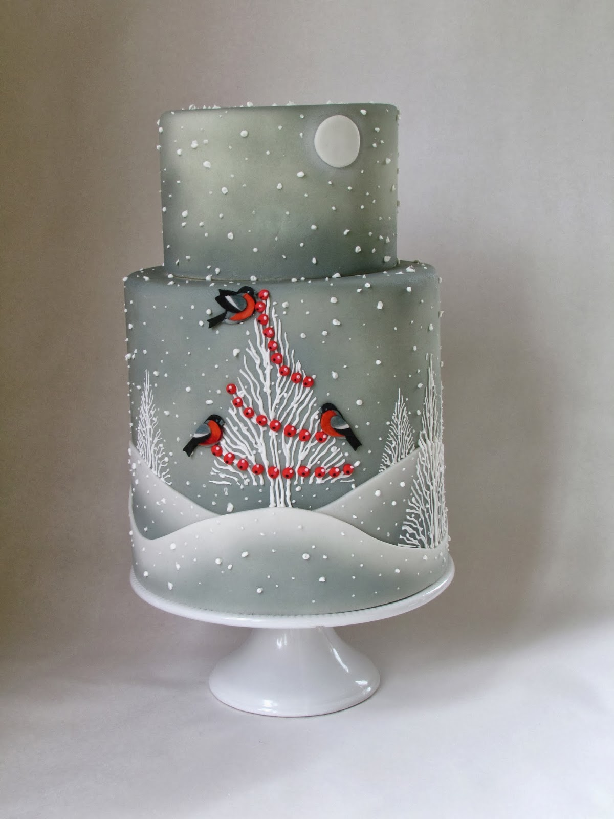 Elegant Christmas Cake Decorating Ideas : Of Cakes and Cupcake (and Apollo too): Cake Central Winter ...