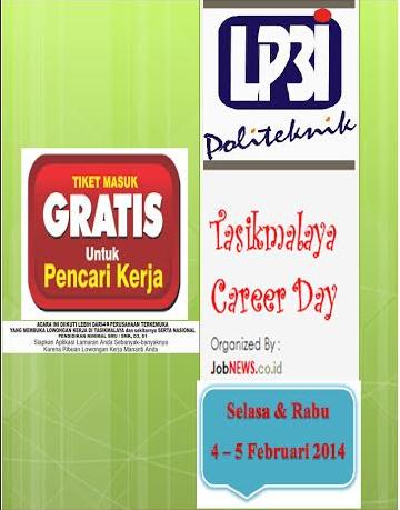 Job Fair LP3I Tasik 2014