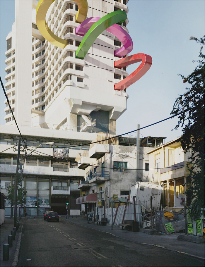 The WellAppointed Catwalk Surrealist City Portraits Of Tel - City portraits surreal architecture photos by victor enrich