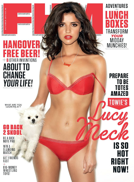 Lucy Mecklenburgh FHM Bikini Photoshoot - October 2013 Issue