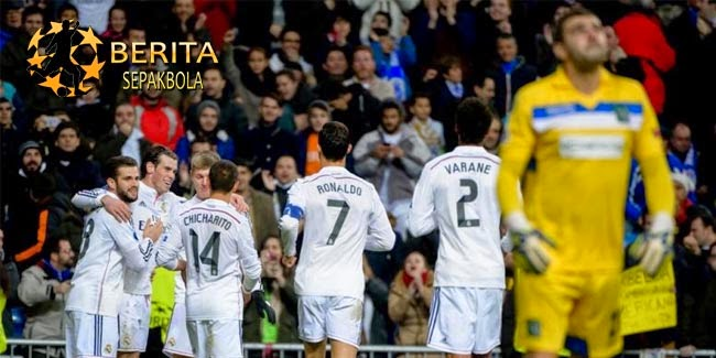 Hajar Ludogorets, Madrid Perpanjang Rekor Menang