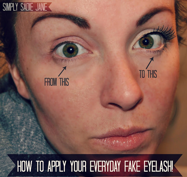 How to Apply False Eyelashes: Guest Post from Simply Sadie ...