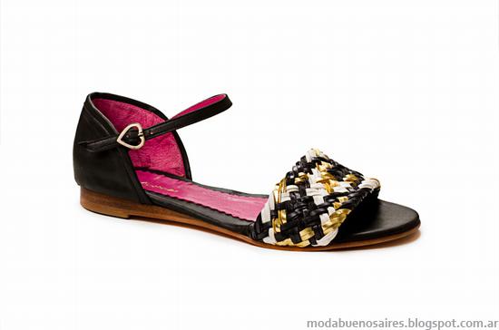 Sandalias 2014, zapatos 2014. Moda 2014 calzados, Laura Constanza verano 2014