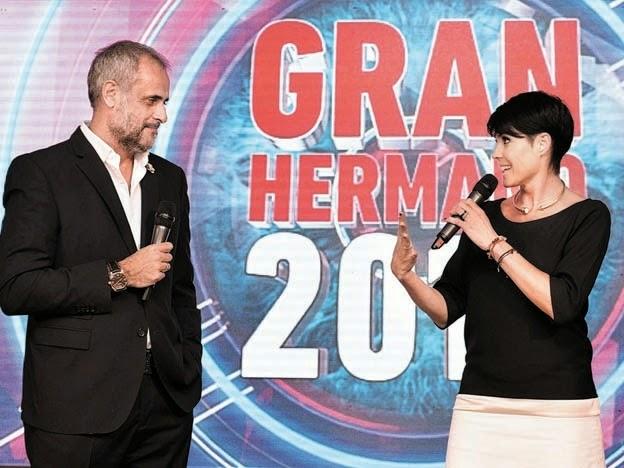 Jorge Rial y Pamela David Gran Hermano 2015