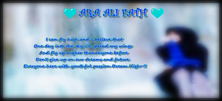 ♥ Ara Ali Fath ♥