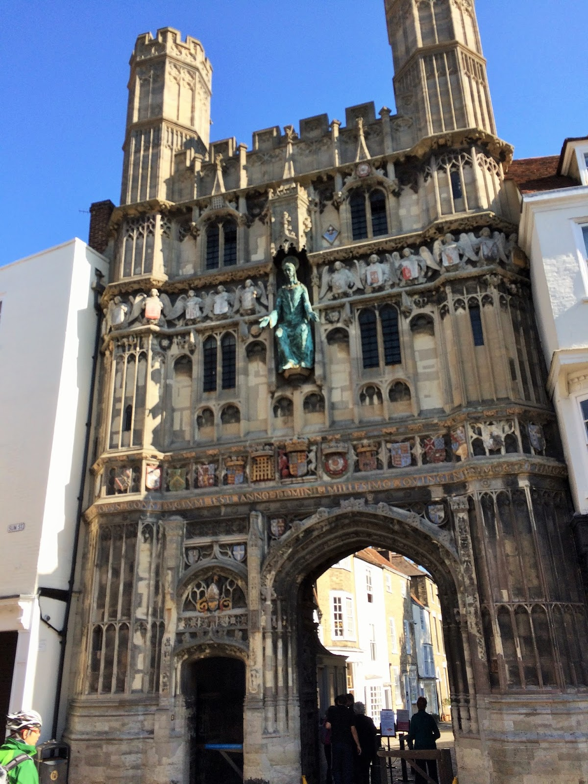 positive letters      inspirational stories       canterbury cathedral scaffold tour