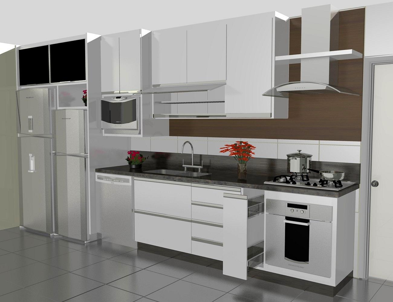 Cozinha Planejada Apartamento Pequeno Em L Simple With Cozinha