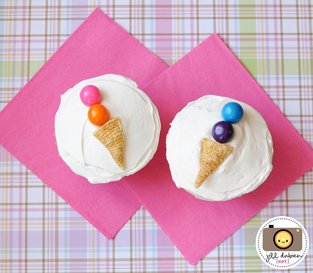 Be Different...Act Normal: Easy DIY Ice Cream Cone Cupcakes