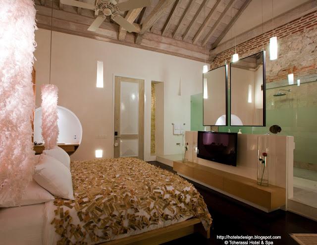les plus beaux hotels design du monde tcherassi hotel spa by silvia tcherassi carthag ne. Black Bedroom Furniture Sets. Home Design Ideas