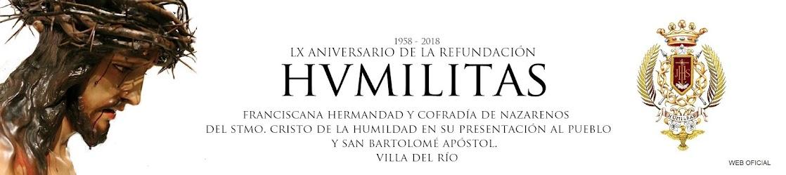 HUMILDAD DE VILLA DEL RÍO