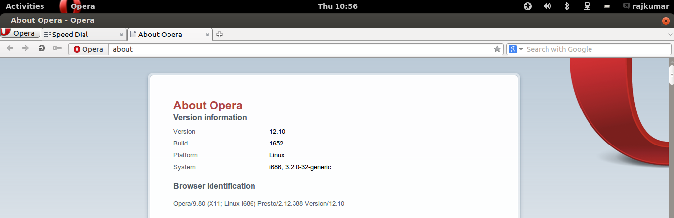 Install Opera 12.10 in Ubuntu 12.04/12.10 | It's All About Linux