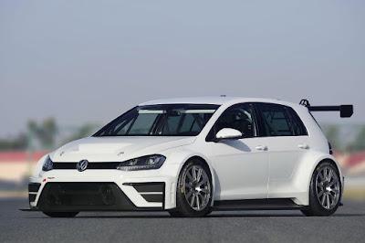 Volkswagen Golf TCR 2015 Front Side