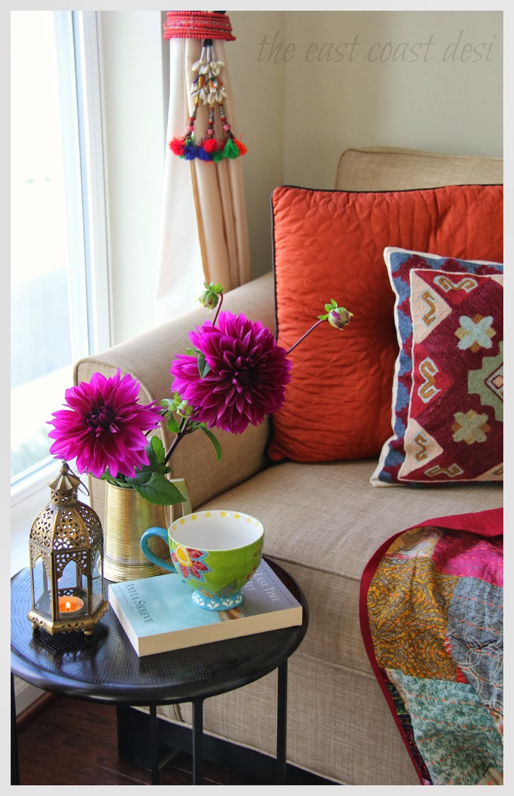 The east coast desi tea and flowers make everything better for Dining room meaning in hindi