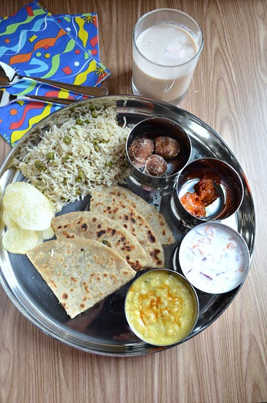 Simple north indian thali virtual birthday treat for manjula simple north indian thali virtual birthday treat for manjula forumfinder Image collections