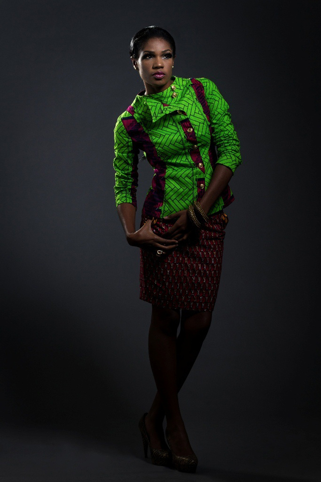 african print in fashion nigeria/ kitenge and khanga outfits