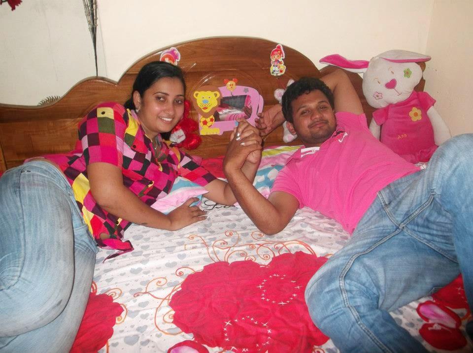 Madhu Nithyani on bed