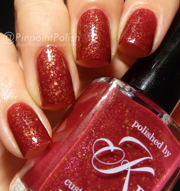 Blood As Thick As Gold, Polished by KPT, swatch