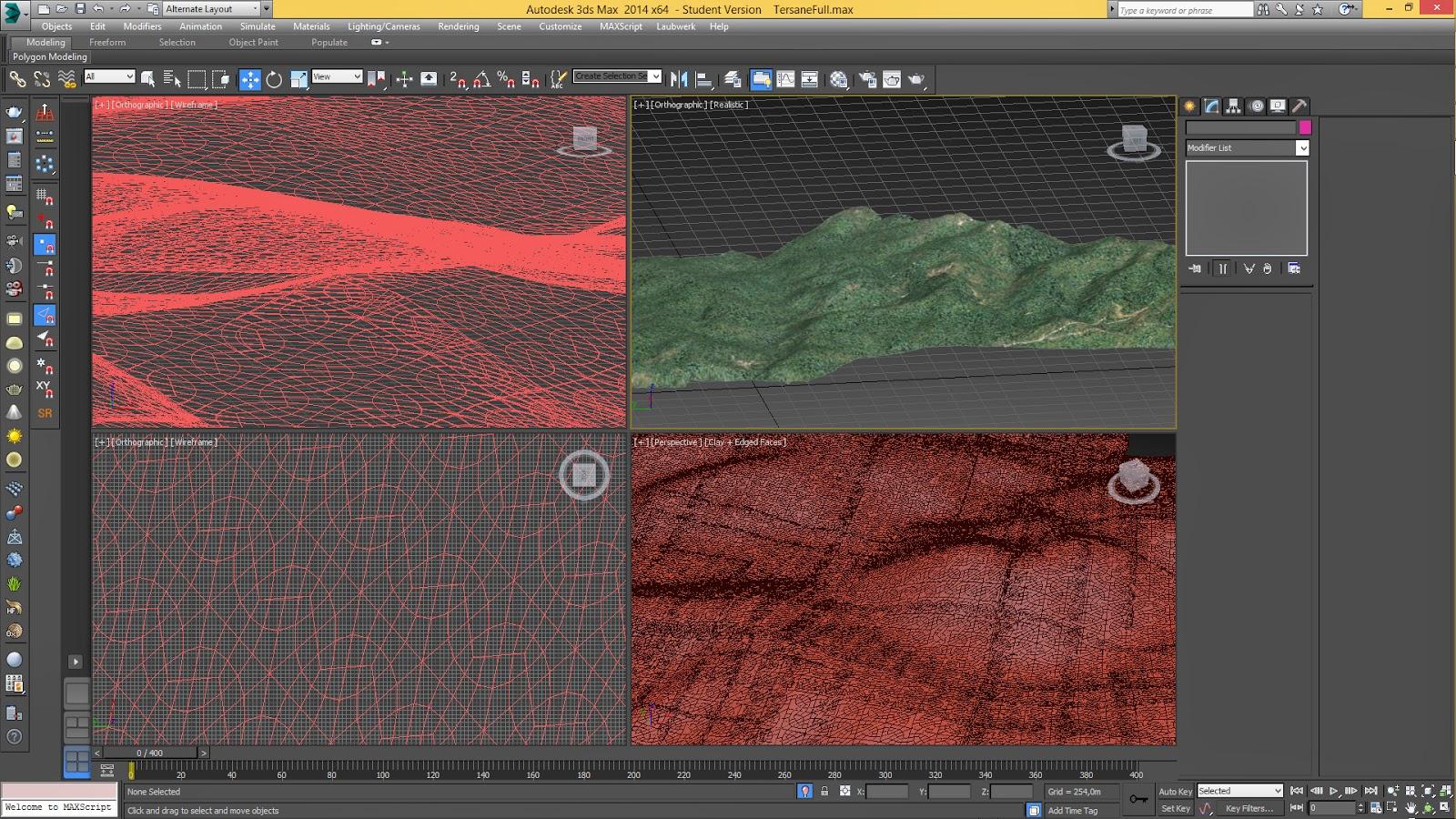 Tersane Animasyonu 3DSMax Modelleme Çalışması