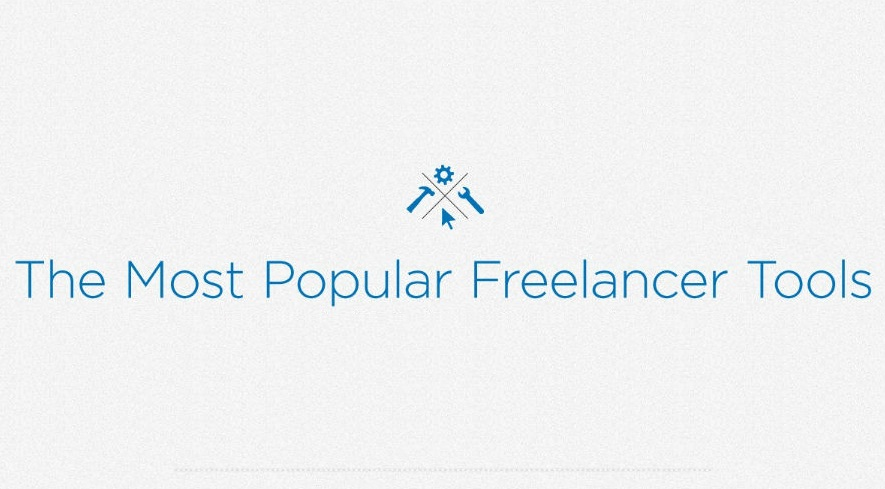 25 Most Popular Apps and Tools for Freelancers - #infographic